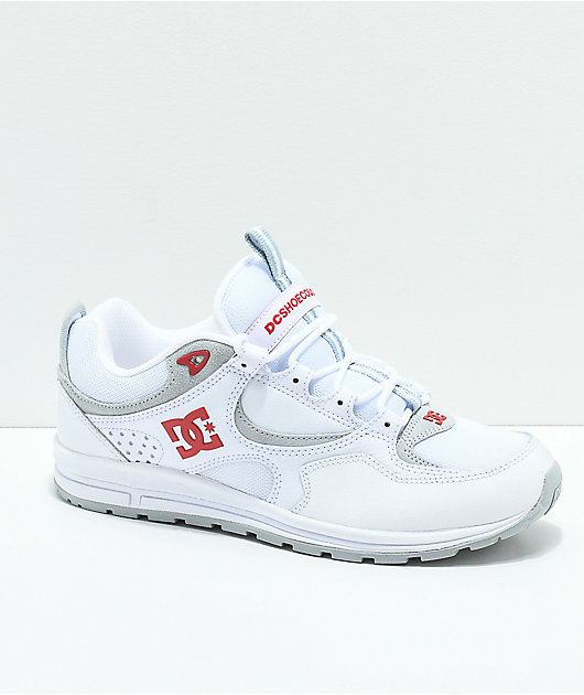 DC Kalis Lite White \u0026 Red Shoes   Zumiez