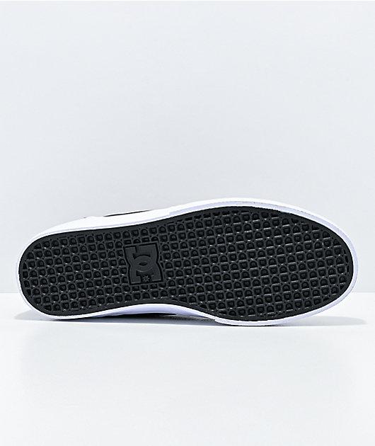 DC Kalis Vulc zapatos de skate en negro y blanco