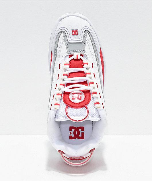 DC Legacy OG Red, Grey, & White Shoes