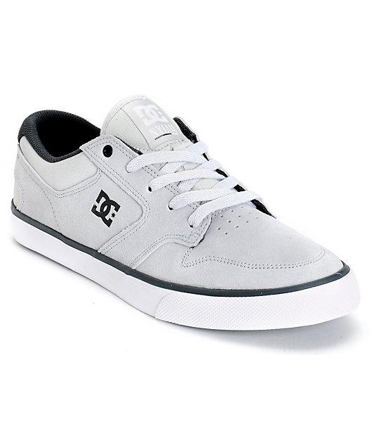 DC Nyjah Vulc S Suede Skate Shoes   Zumiez