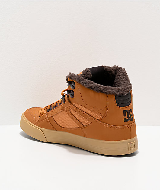 DC Pure High Winter Brown & Chocolate Boots