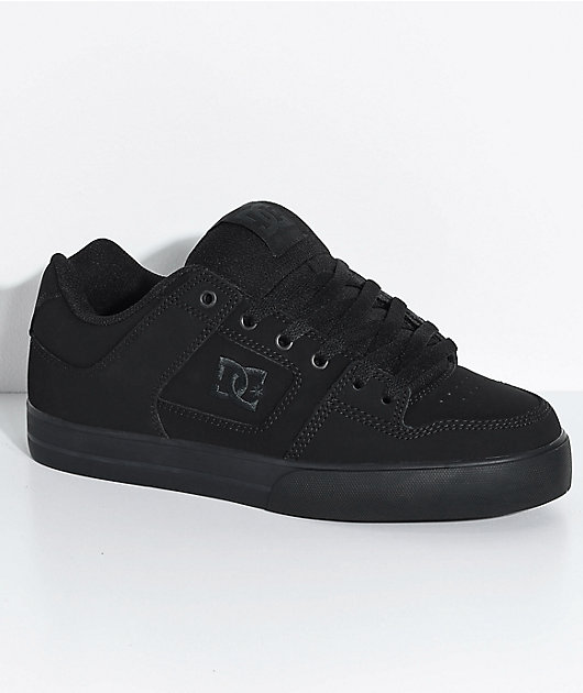 DC Pure Pirate zapatos de skate negros