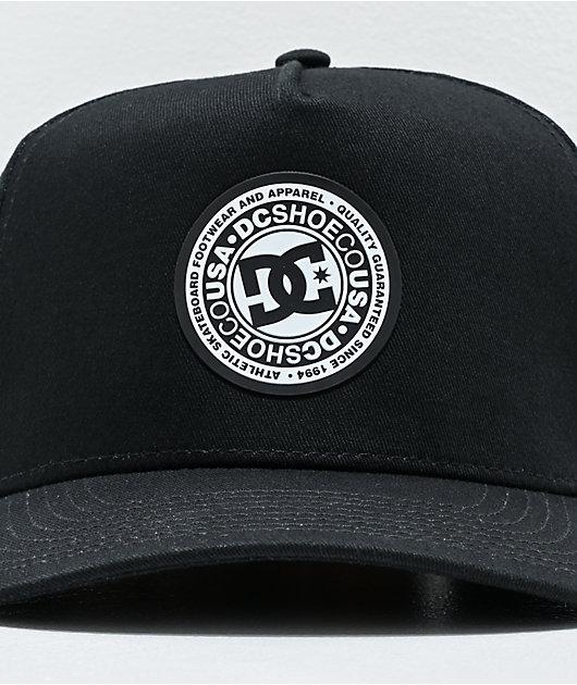 DC Reynotts Black & White Snapback Hat