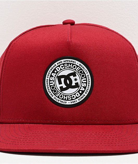 DC Reynotts Red Snapback Hat