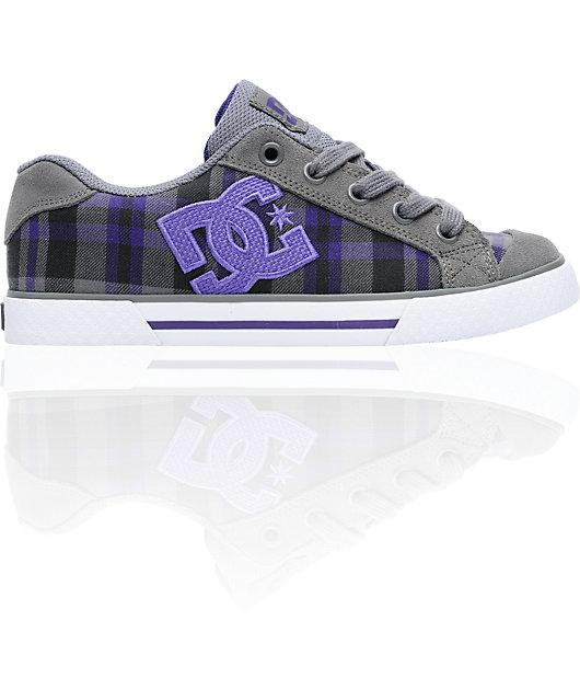 DC Shoes Chelsea Battleship \u0026 Velvet