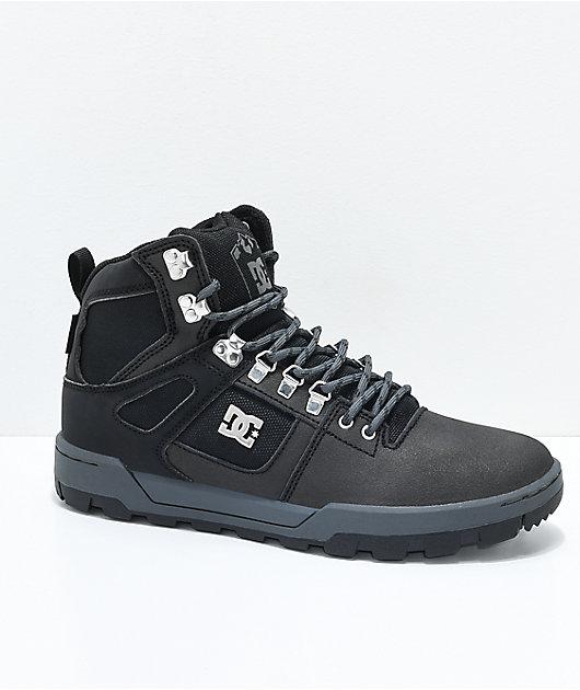DC Spartan High WR Black \u0026 Grey Boots
