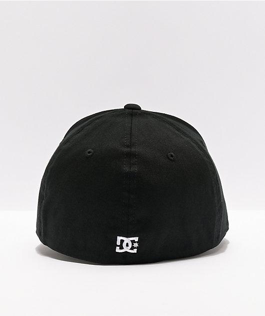 DC Star Black FlexFit Hat