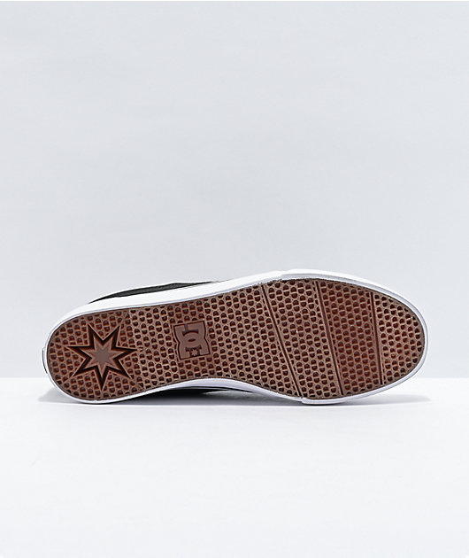 DC Trace TX Black Skate Shoes