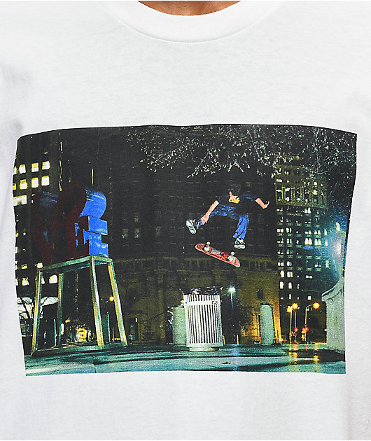 DC Wenning Love Park camiseta blanca