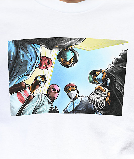 DGK Attitude White T-Shirt