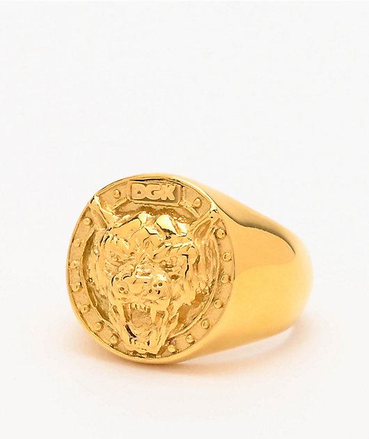 DGK Big Cat anillo de oro
