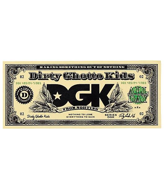 DGK Buck Sticker