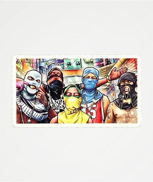 DGK Favela Sticker