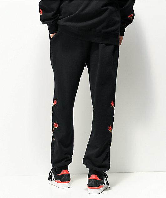 DGK Fierce Black Jogger Sweatpants