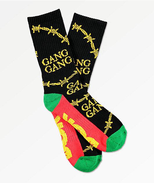 DGK Gang Gang calcetines negros
