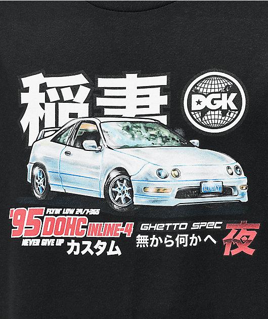 DGK Ghetto Spec Black T-Shirt