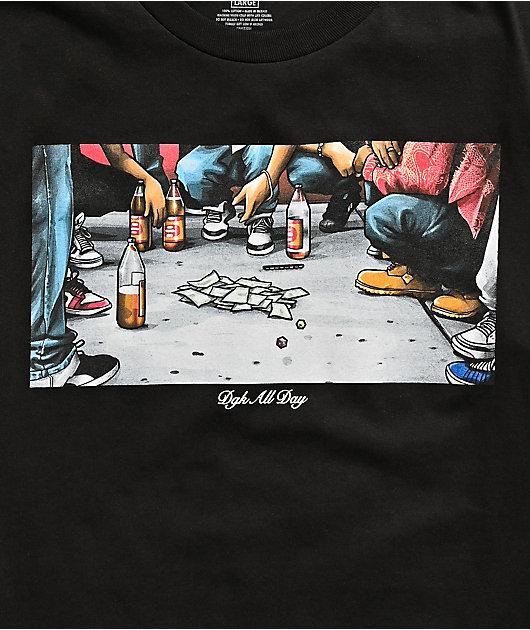 DGK Hustle Black T-Shirt