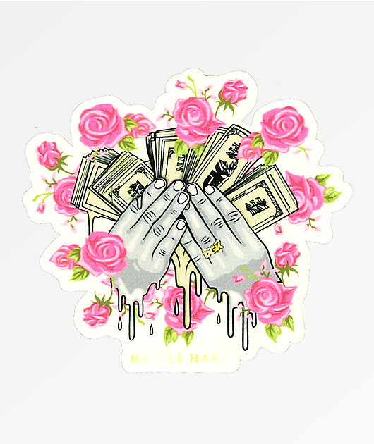 DGK Hustle Hard Sticker