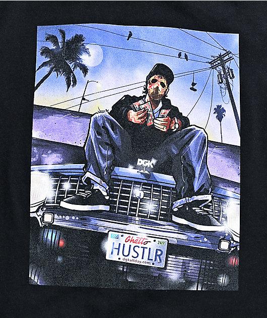 DGK Hustlin Black T-Shirt