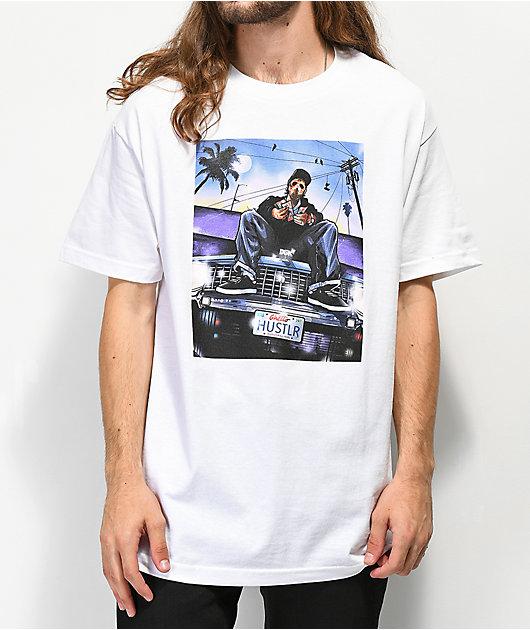 DGK Hustlin White T-Shirt
