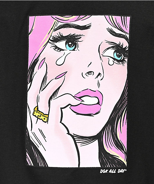 DGK Last Crush Black T-Shirt