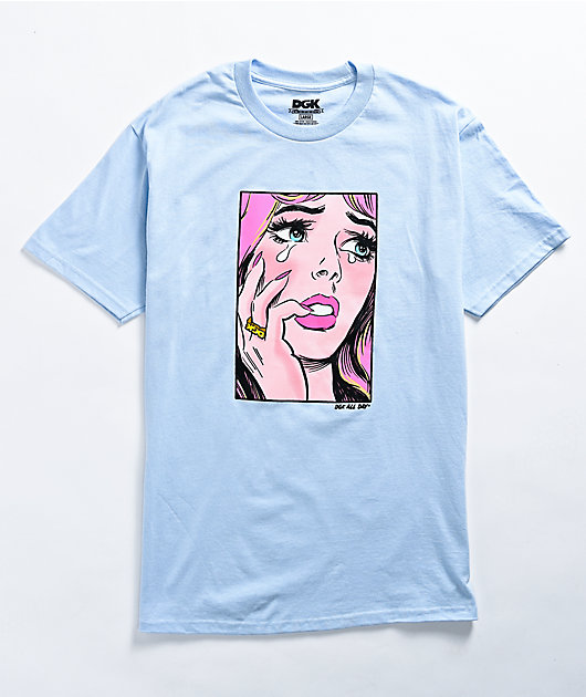 DGK Last Crush Light Blue T-Shirt