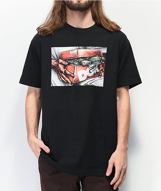 DGK Loaded camiseta negra