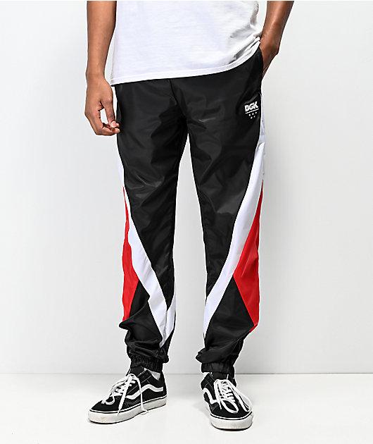 DGK Mirage pantalones de chándal en rojo y negro