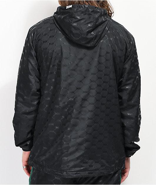 DGK Primo chaqueta cortavientos negra