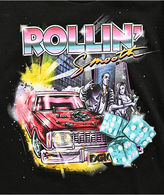 DGK Rollin' Black T-Shirt