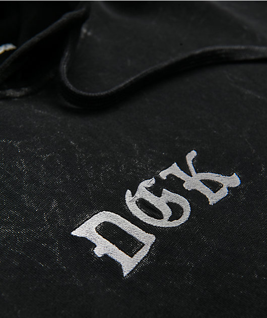 DGK Stay True Black Washed Hoodie