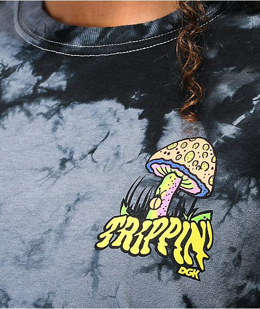 DGK Trippin' Black Tie Dye T-Shirt