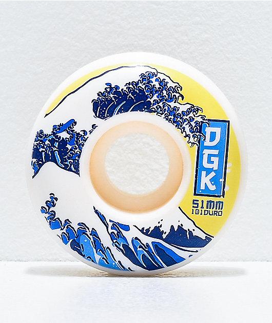 DGK Tsunami 51mm 101a Skateboard Wheels