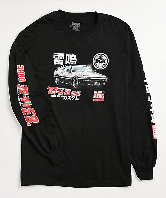 DGK Tuner Black Long Sleeve T-Shirt