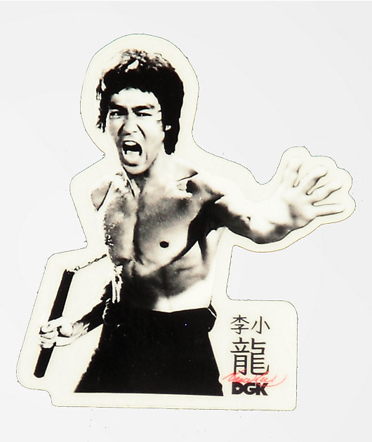 DGK x Bruce Lee Fierce pegatina