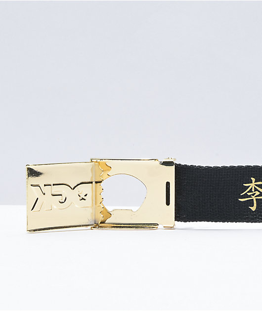 DGK x Bruce Lee Lil Dragon Webbed Belt