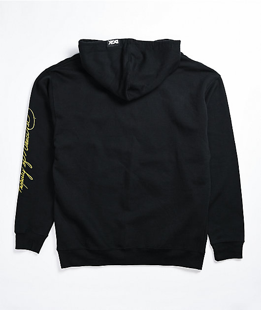DGK x Bruce Lee Power Black Hoodie