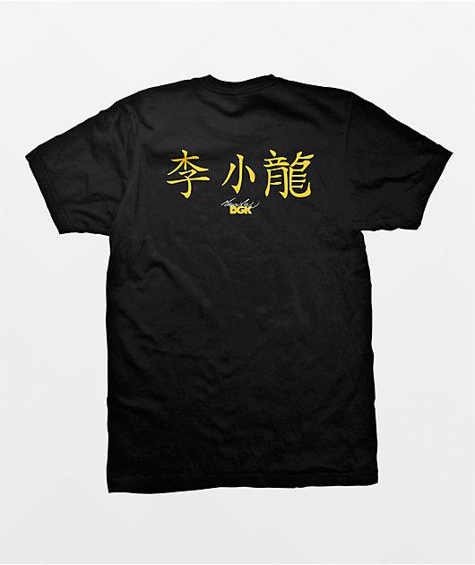 DGK x Bruce Lee Technique Black  T-Shirt
