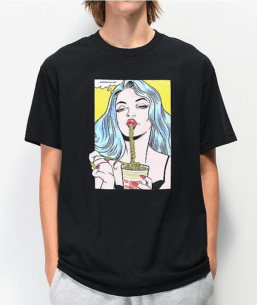 DGK x Cup Noodles Slurp Black T-Shirt