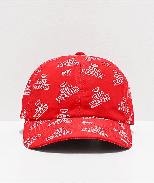 DGK x Cup Noodles gorra roja