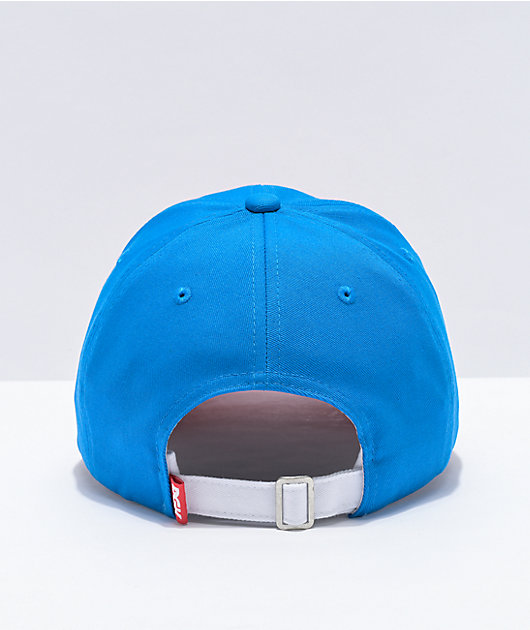 DGK x Otter Pops Crew Red & Blue Strapback Hat