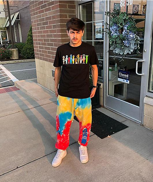 DGK x Otter Pops Melted Tie Dye Sweatpants