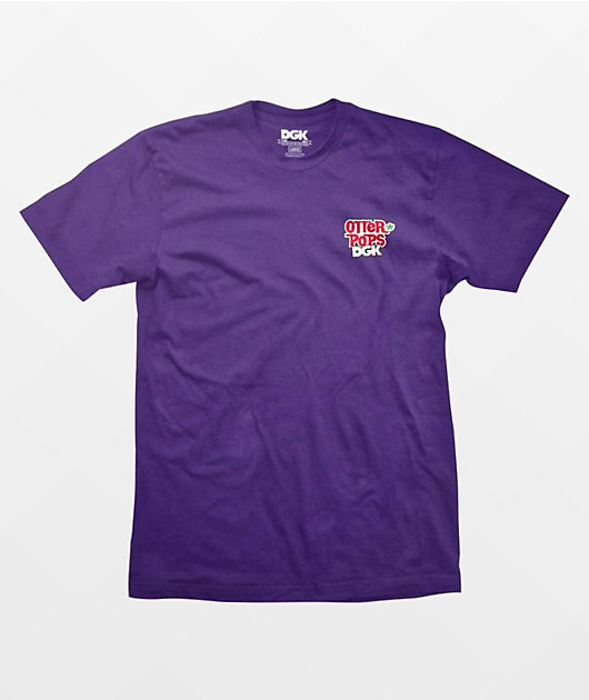 DGK x Otter Pops Squad Purple T-Shirt