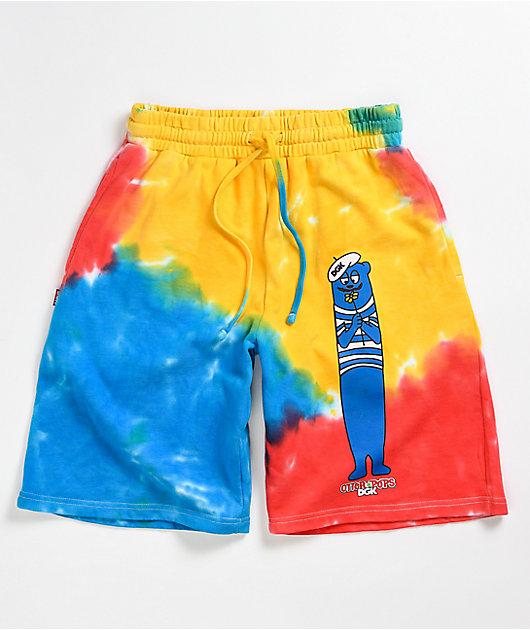 DGK x Otter Pops Tie Dye Sweatshorts
