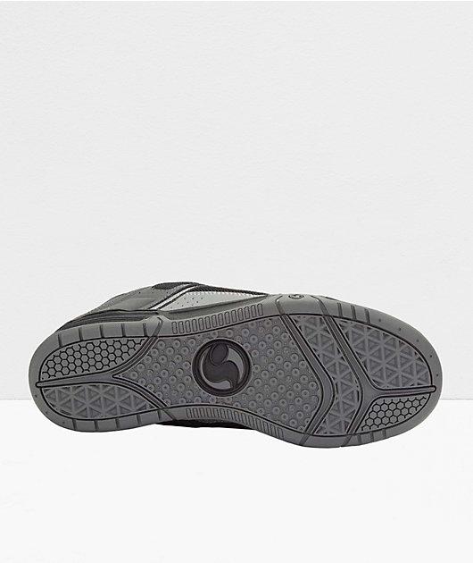 DVS Comanche Black, Charcoal & Red Skate Shoes