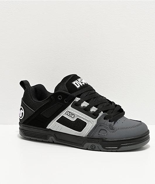 DVS Comanche Dark Grey, Grey & Black Skate Shoes