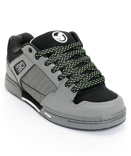 DVS Durham Grey Nubuck Skate Shoes | Zumiez