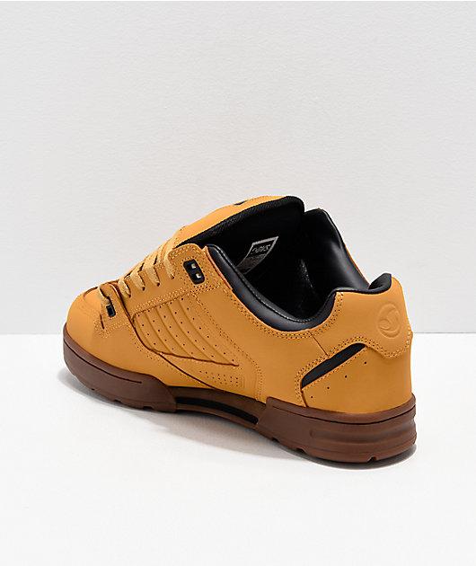 DVS Militia Snow Tan & Black Nubuck Shoes