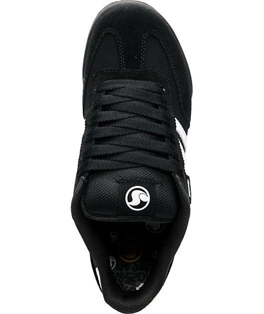DVS Shoes Milan Black \u0026 White Skate