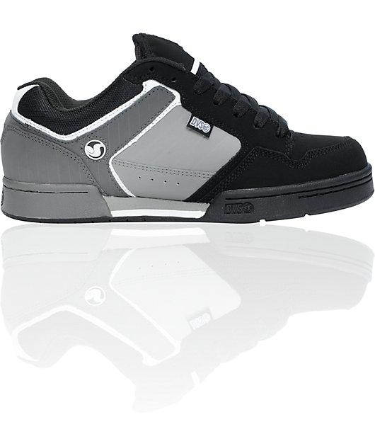 DVS Transom Black \u0026 Grey Nubuck Skate